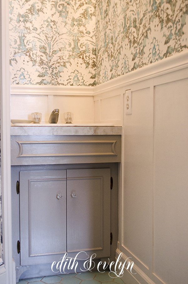 Painting Doors, Adding Cabinet Trim, Board & Batten, and Project Furniture |Edith & Evelyn | www.edithandevelynvintage.com