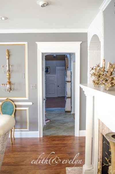 How to Add Door Mouldings for Architectural Detail | Edith & Evelyn Vintage | www.edithandevelynvintage.com
