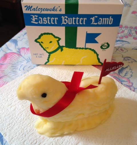 Butter Lamb Tradition for Easter | Edith & Evelyn | www.edithandevelynvintage.com