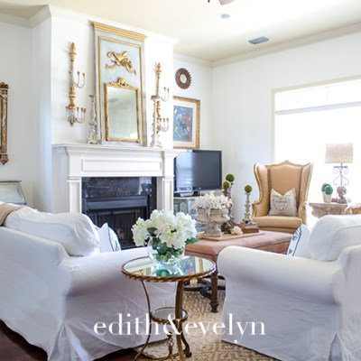 Decorating An Open Concept Living Room   Edith & Evelyn   www.edithandevelynvintage.com
