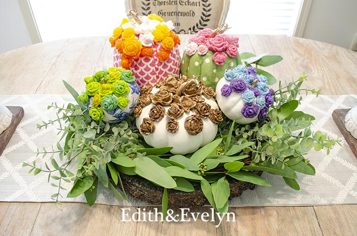 Whimsical Pumpkins | Edith & Evelyn | www.edithandevelynvintage.com
