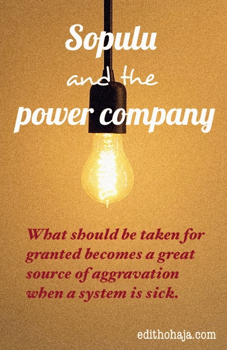 SOPULU AND THE POWER COMPANY (SHORT STORY)