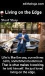 LIVING ON THE EDGE (SHORT STORY)