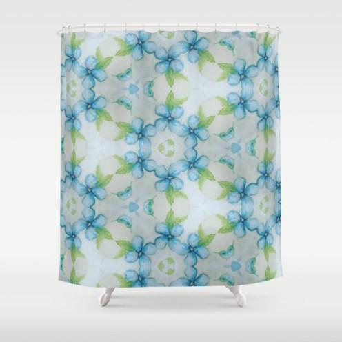 blue-flower-patter-shower-curtains