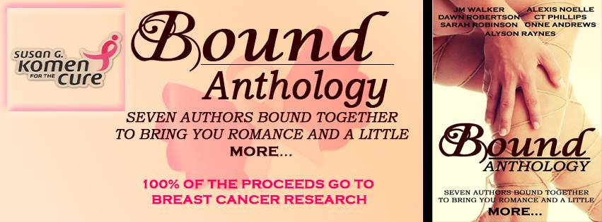 Bound Anthology - Susan G. Komen breast cancer benefit