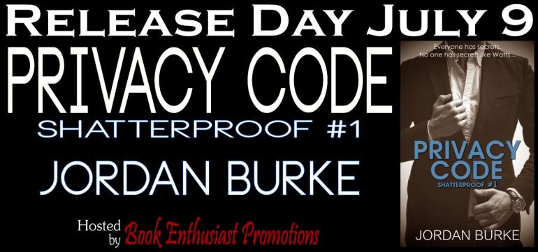 Privacy Code by Jordan Burke Release Day