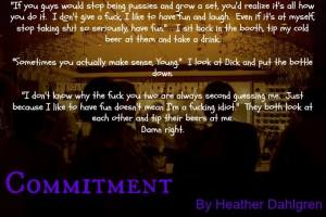 Commitment by Heather Dahlgren Teaser on XterraWeb