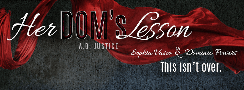Her Dom's Lesson by A.D. Justice Cover Reveal on XterraWeb ~Books & More~
