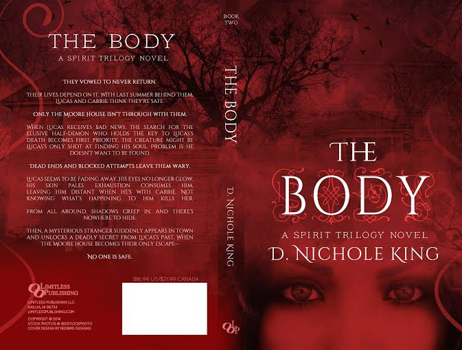 The Body by D. Nichole King Cover Reveal on XterraWeb ~Books & More~