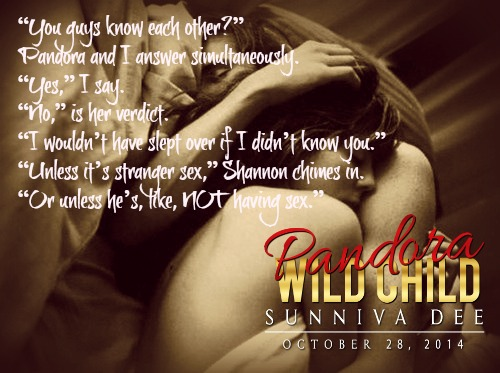 Pandora Wild Child by Sunniva Dee teaser