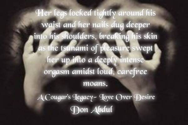 A Cougar's Legacy-Love Over Desire by Don Abdul Teaser