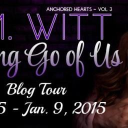 Letting Go of Us by J.M. Witt - Blog Tour on XterraWeb