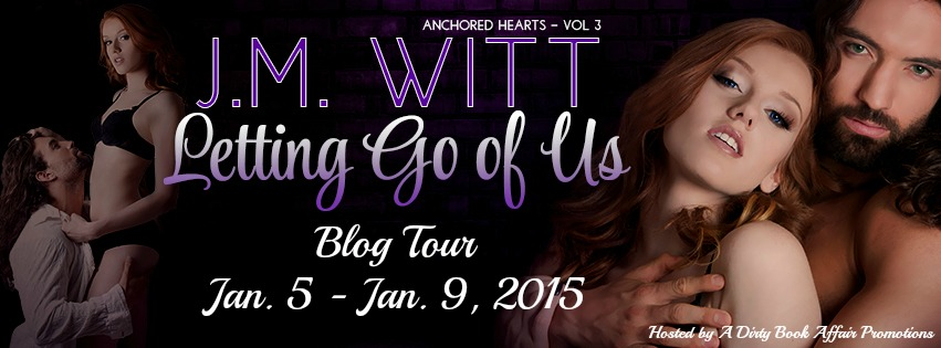Letting Go of Us by J.M. Witt - Blog Tour on XterraWeb