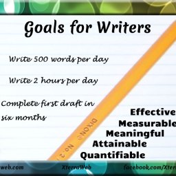 Goals for writers. How to write effective short-term goals and long-term goals.