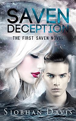 Saven Deception by Siobhan Davis. The Saven Series, Book 1. Edited by Kelly Hartigan of XterraWeb.