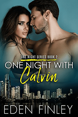 One Night with Calvin by Eden Finley. One Night Series, Book 2.