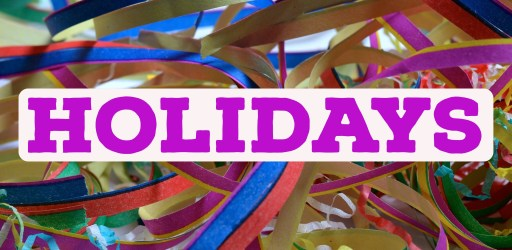 Holidays and Notable Days