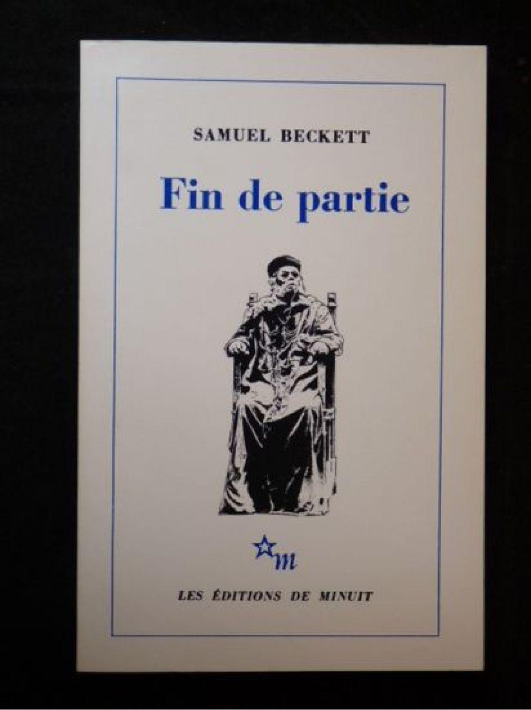 Samuel Beckett Fin De Partie : samuel, beckett, partie, BECKETT, Partie, Edition-Originale.com