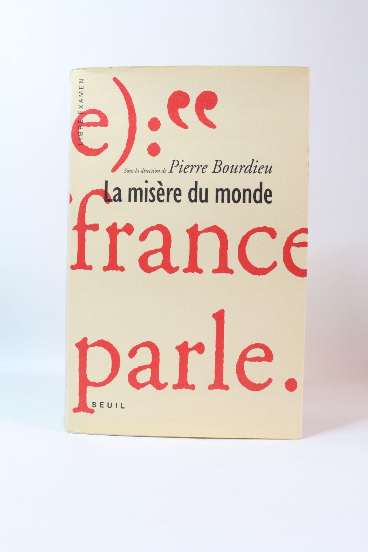 Bourdieu La Misère Du Monde : bourdieu, misère, monde, BOURDIEU, Misère, Monde, Signed, Book,, First, Edition, Edition-Originale.com