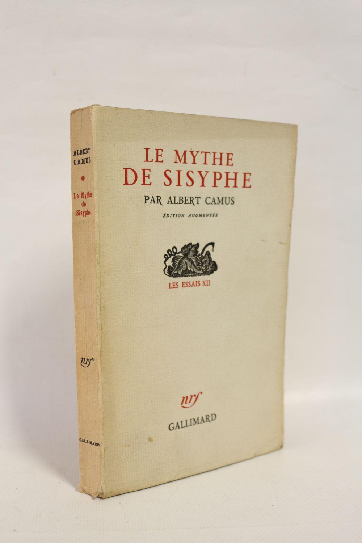Camus Le Mythe De Sisyphe : camus, mythe, sisyphe, CAMUS, Mythe, Sisyphe, Edition-Originale.com