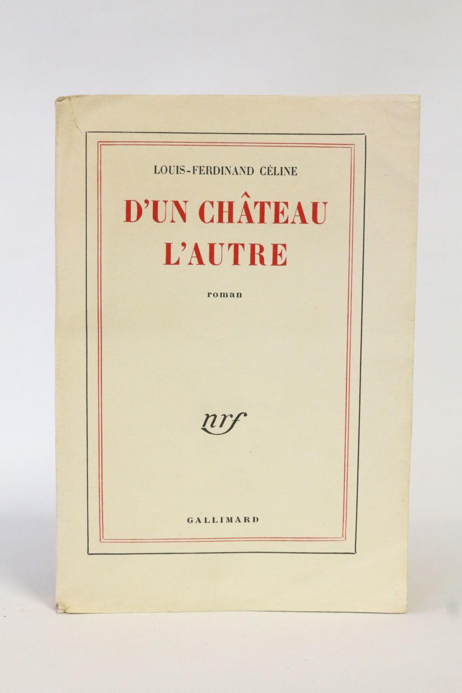 Celine D Un Chateau L Autre : celine, chateau, autre, CELINE, Château, L'autre, First, Edition, Edition-Originale.com
