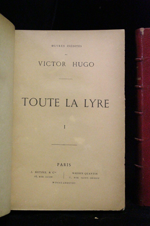 Victor Hugo : Toute la Lyre : L'ogre et la fée