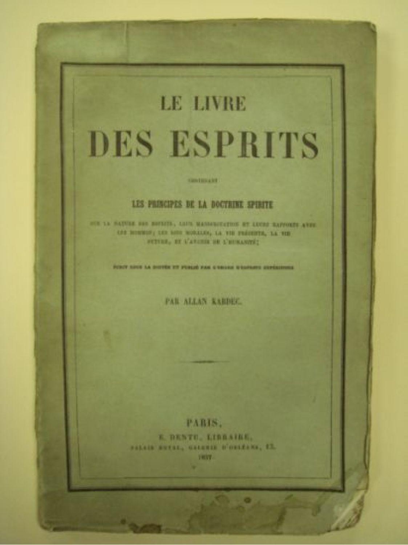 Allan Kardec Le Livre Des Esprits : allan, kardec, livre, esprits, KARDEC, Livre, Esprits, Edition, Originale, Edition-Originale.com