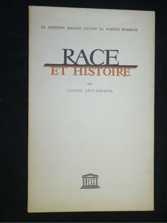 Claude Levi Strauss Race Et Histoire : claude, strauss, histoire, LEVI-STRAUSS, Histoire, Edition-Originale.com