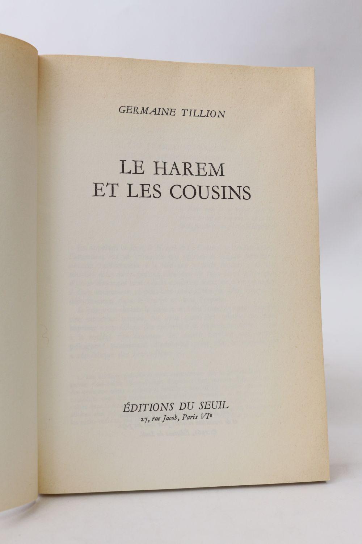Le Harem Et Les Cousins : harem, cousins, TILLION, Harem, Cousins, Signed, Book,, First, Edition, Edition-Originale.com
