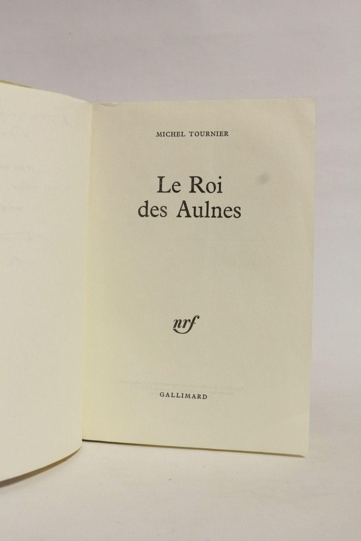 Le Roi Des Aulnes Tournier : aulnes, tournier, TOURNIER, Aulnes, Signed, Edition-Originale.com