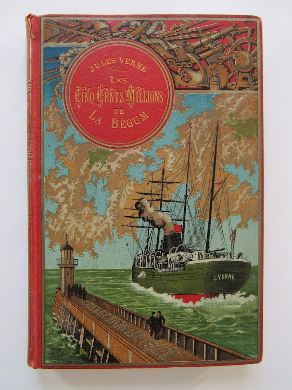 Cinq Cent Ou Cinq Cents : cents, VERNE, Cents, Millions, Begum., Révoltés, Bounty], Edition-Originale.com