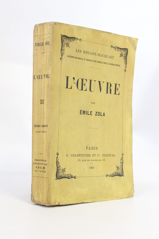 L'œuvre (émile Zola) : l'œuvre, (émile, zola), L'oeuvre, First, Edition, Edition-Originale.com