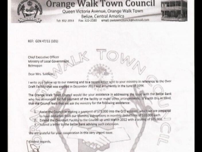Orange Walk Town Council S Belize Bank Account Frozen Channel5belize Com