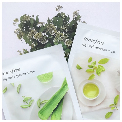My Real Squeeze Mask - Rice by innisfree #21