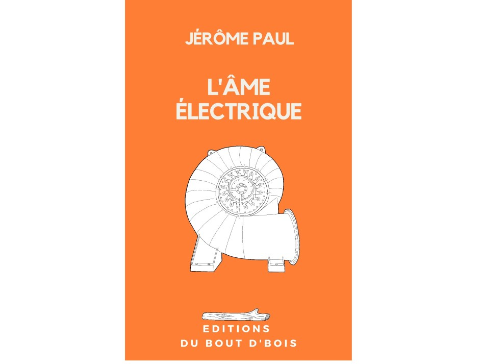 couverture l'âme électrique nouvelle de Jérôme Paul