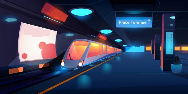 métro de Sedan - sortie Place Turenne