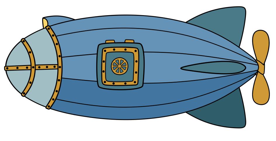 la capsule fluviale - couleur - dessin d'Annick Paul