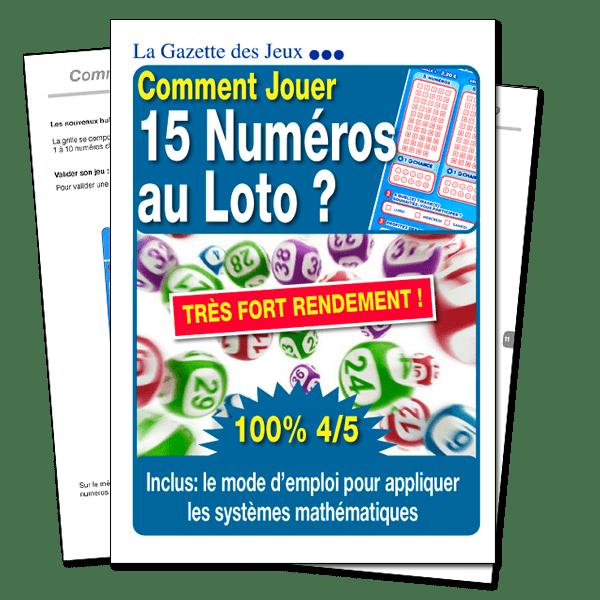 Système loto 15 numéros