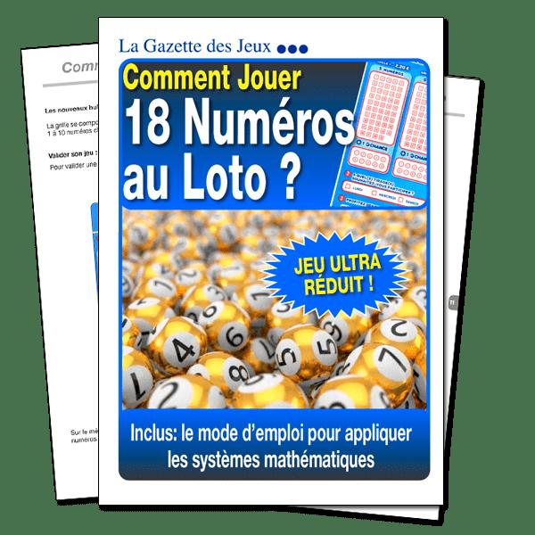 système loto 18 numéros économique