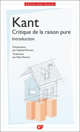 Critique De La Raison Pure Pdf : critique, raison, Critique, Raison, Emmanuel, Editions, Flammarion