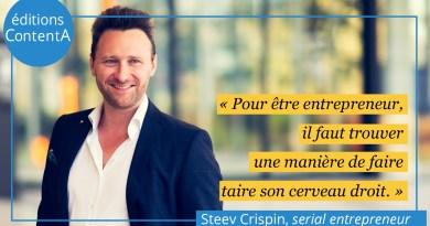 Steev Crispin, l'entrepreneur décomplexé