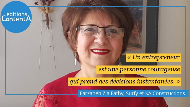 Photo couverture Farzaneh Zia Fathy