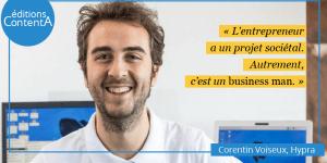 Corentin Voiseux - Hypra - éditions ContentA