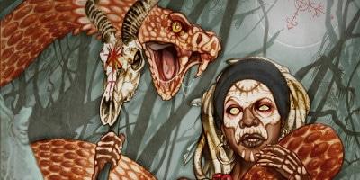 Marinette et son serpent