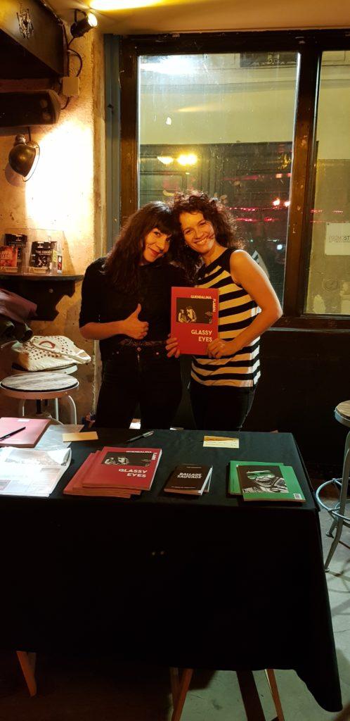 Laura et Guendalina des éditions des Véliplanchistes