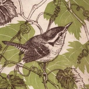 "Kathleen Piercefield ""A Joyous Going Fellow"" etching & aquatint 5x5 inches"