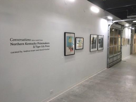Conversations, UK Bolivar Gallery (image courtesy of David Wischer)