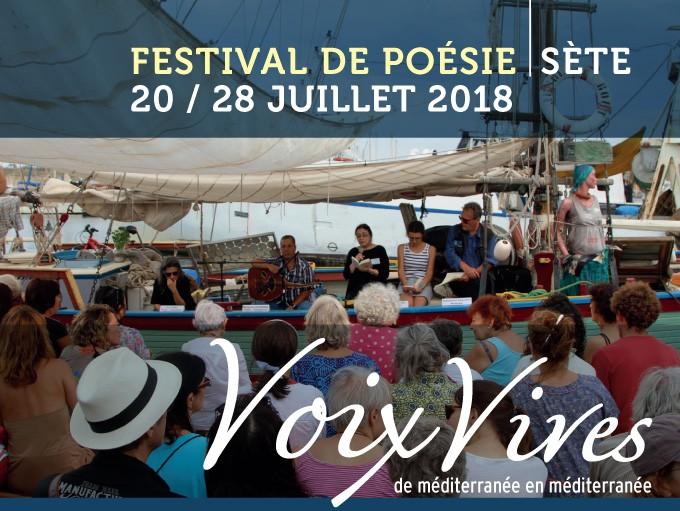 Voix Vives de la Méditerranée, du 20 au 28 juillet 2018