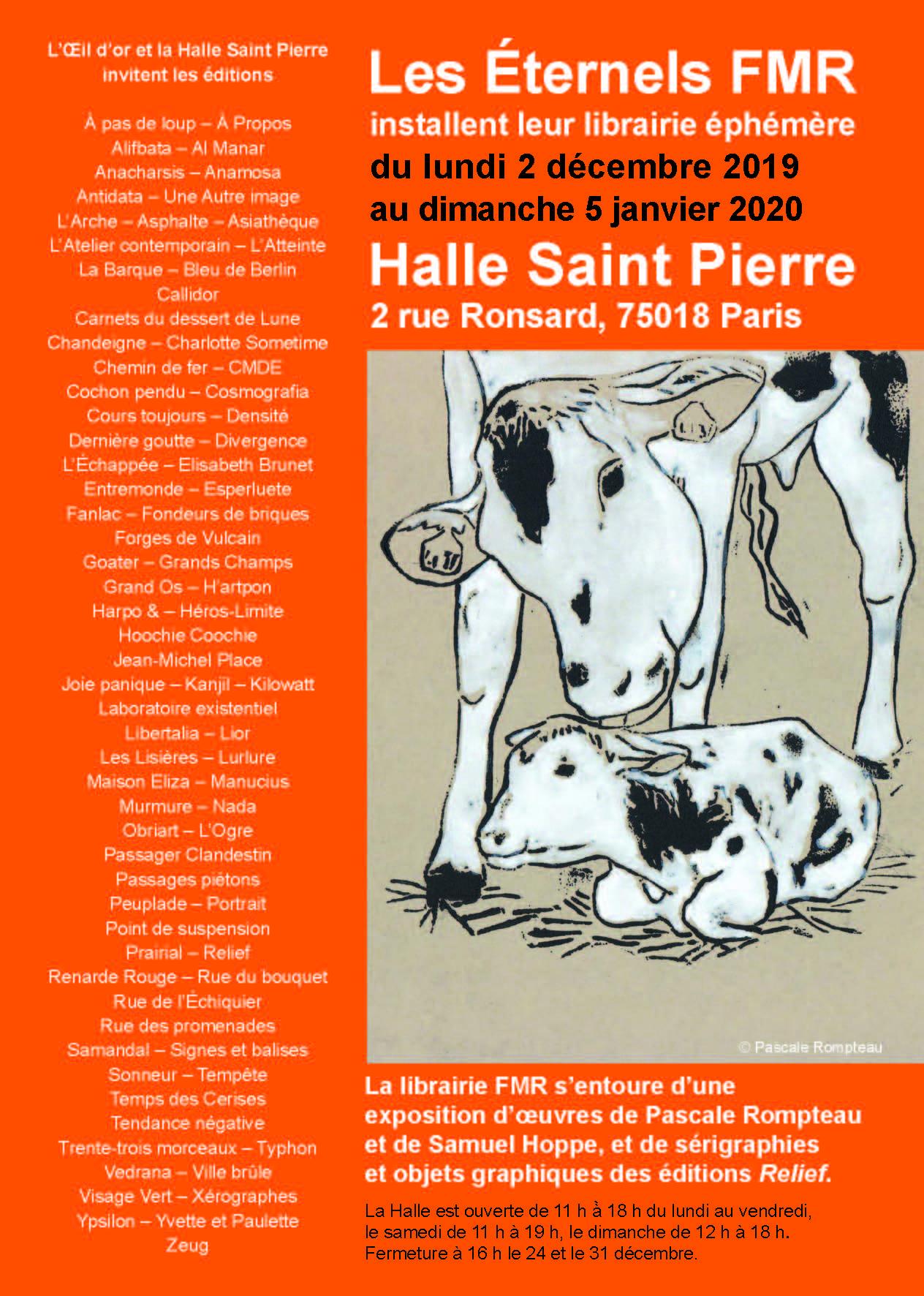 Les Eternels éphémères de retour à la Halle St Pierre !