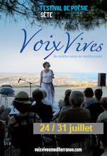 festival Voix vives de la Méditerranée : du 24 au 31/07, à Sète !